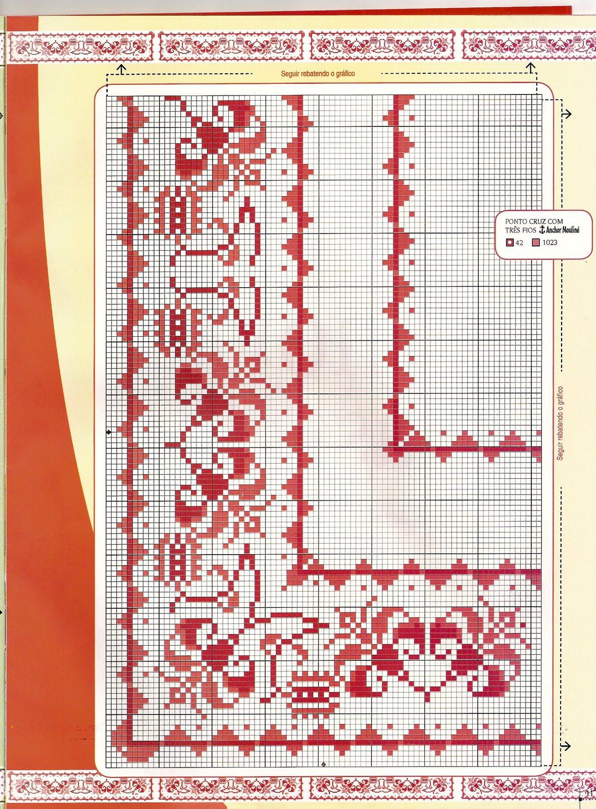Graficos Punto De Cruz Gratis Cenefas 83
