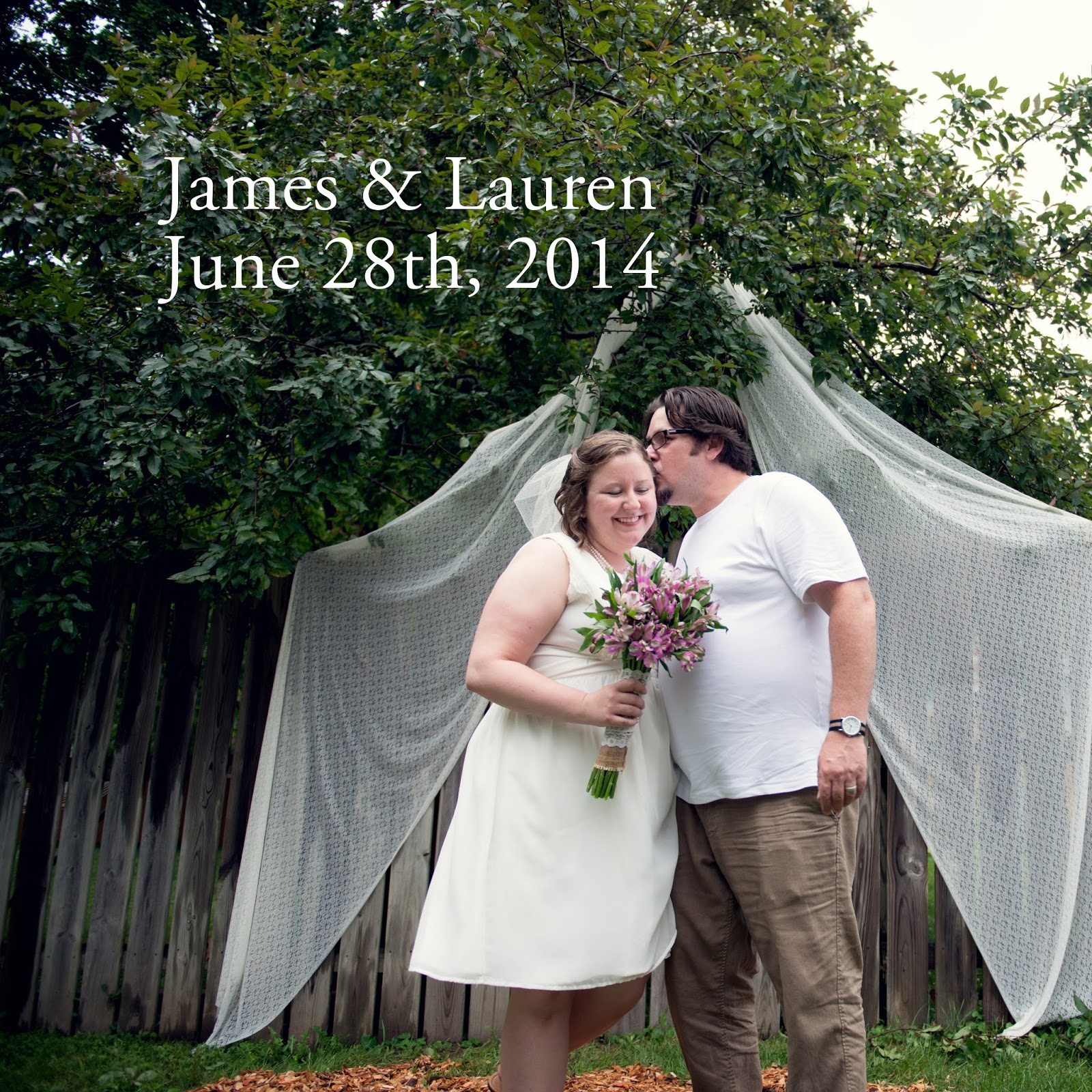 Our surprise wedding june 2014 has passport will travel three years ago today i married my best friend hes an amazing partner and father and i often ask myself how i got this lucky junglespirit Image collections