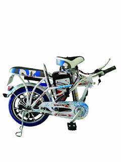 Sepeda listrik saturnus