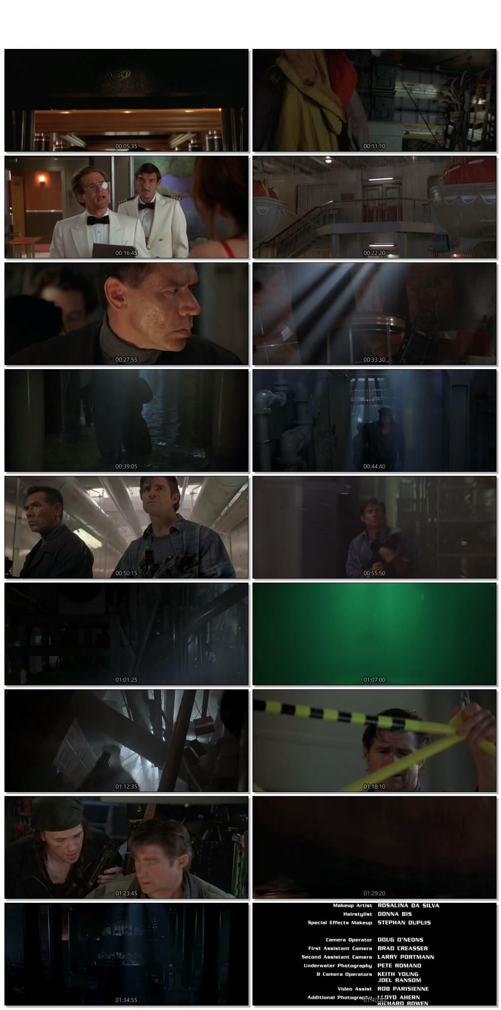 Screen Shot Of Deep Rising 1998 300MB Full Movie Hindi Dubbed Free Download 720P BRRip HEVC