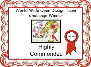 HIGHLY COMMENDED WINNER OVER AT WORLD WIDE OPEN DESIGN TEAM