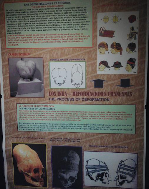 Deformaciones de cráneos incas, Cuzco