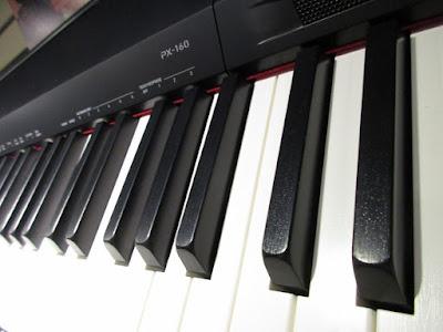 ban phim dan piano dien casio px160
