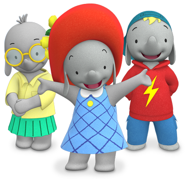 e88f89d3f9711 Cartoon Characters  Ella the Elephant
