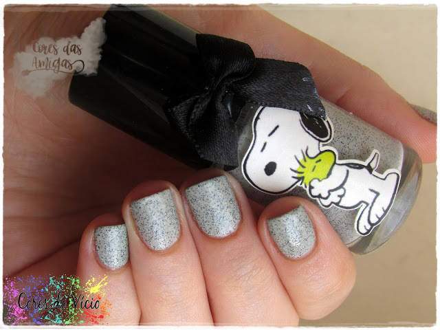 Snoopy EDK Esmaltes da Kelly Nailpolish Cinza