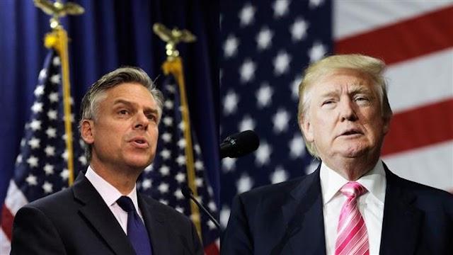 US President Donald Trump picks former Utah governor Jon Huntsman as Russia envoy