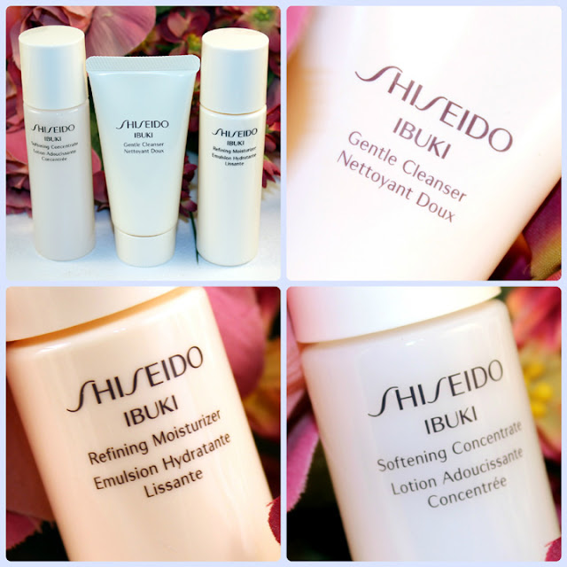Shiseido Ibuki Skin Care Mini Sampler Set