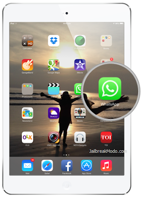 Whatsapp for iPad: download and Install