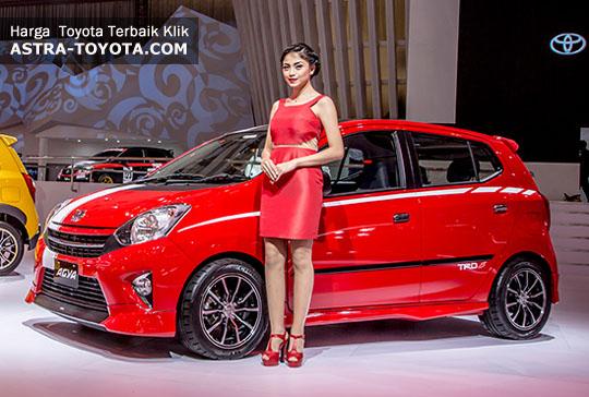 Harga New Agya Trd Modifikasi All Yaris Sportivo Mobil Toyota Tipe E, G, S, Manual, Matic ...