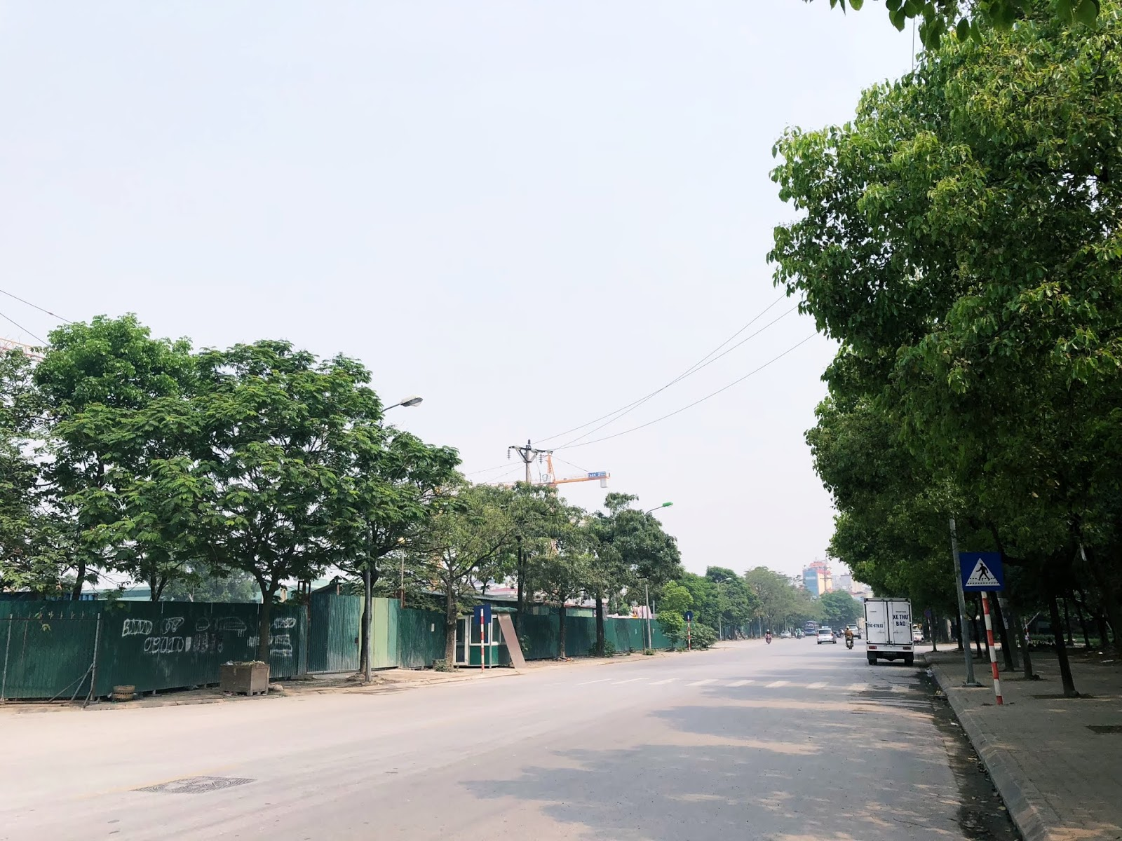 Tuyến đường Trần Thủ Độ nối ra đường vành đai 3 trên cao