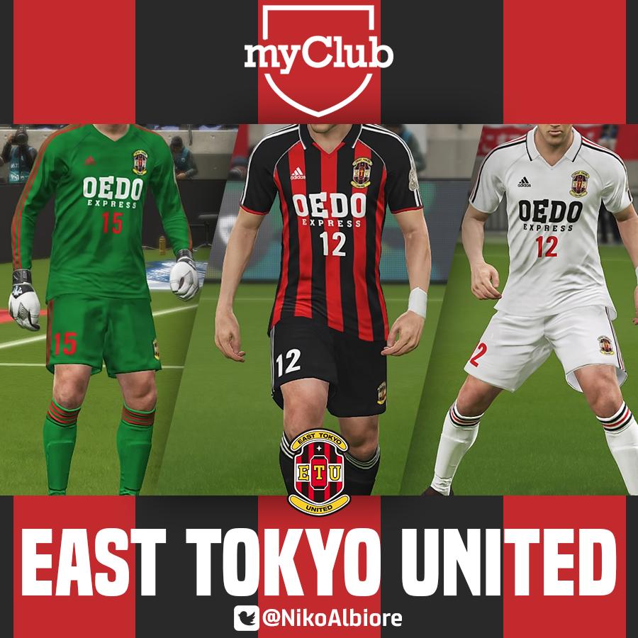 myClub - East Tokyo United