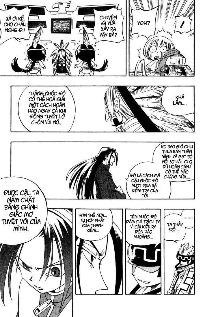 Shaman King [Vua pháp thuật] chap 37 trang 18