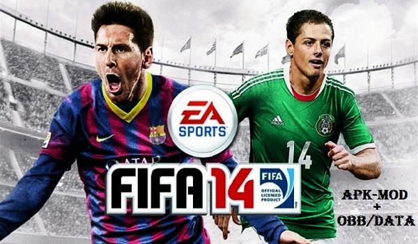 Download FIFA 14 Full Mod Apk Data Game for Android