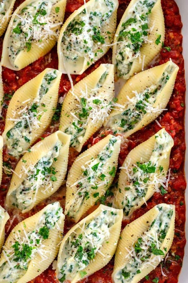 ★★★★★ 457 Ratings : Stuffed Shells with Spinach  #Easy #simplirecipe #Instantpot #Bangbang #Shrimp #Pasta #vegan #Vegetables #Vegetablessoup #Easydinner #Healthydinner #Dessert #Choco #Keto #Cookies #Cherry #World #foodoftheworld #pasta #pastarecipes #dinner #dinnerideas #dinnerrecipes #Healthyrecipe