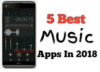 Best Music Apps For Android 2018