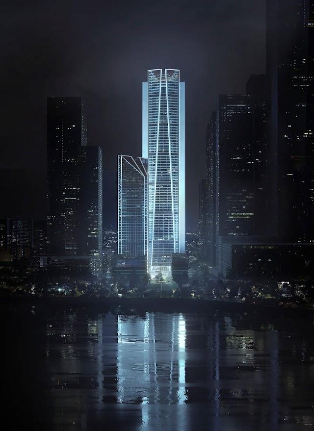 Thiết kế siêu trụ sở ngân hàng China Merchants của công ty Foster and partners ở Thẩm Quyến