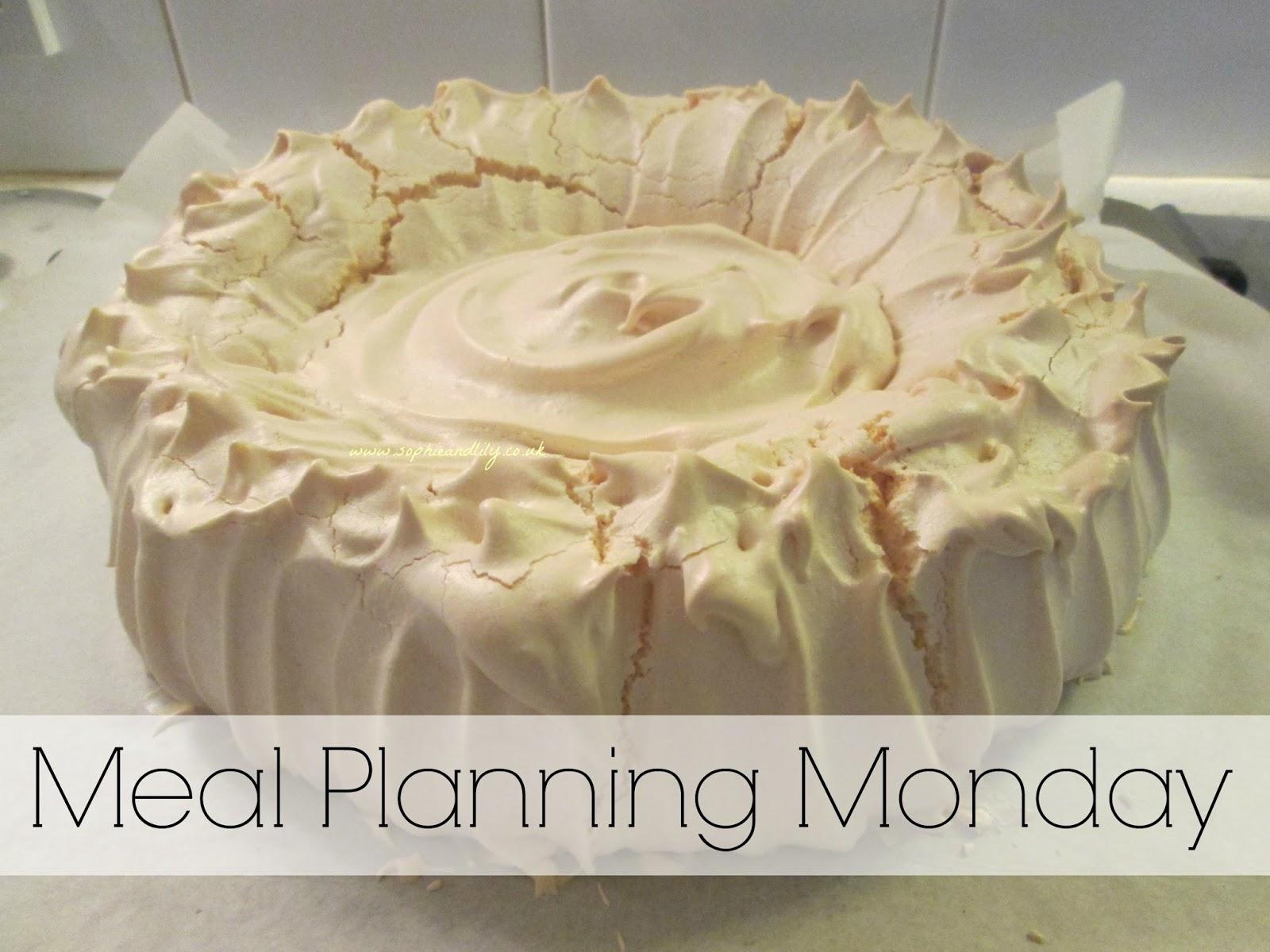 Meal Planning Monday - Pavlova