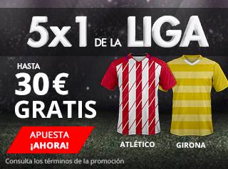 suertia promocion Atletico vs Girona 20 enero