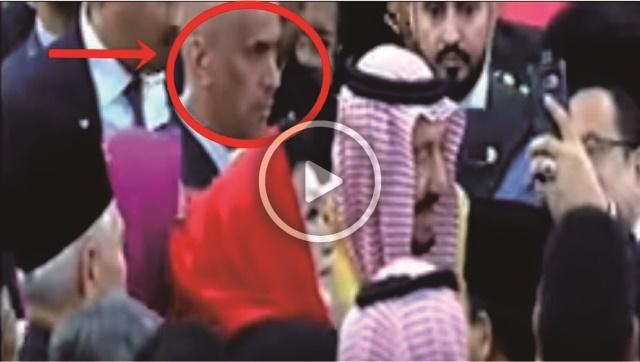 VIDEO: Beginilah Momen Saat Bodyguard Raja Salman Terjepit Diantara Para Wanita Yang Selfie