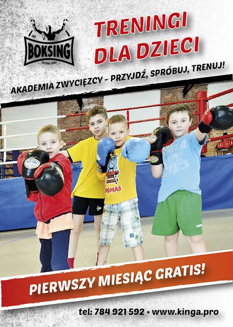 Nabór! Treningi dla dzieci!  AKADEMIA ZWYCIĘZCY - PRZYJDŹ, SPRÓBUJ, TRENUJ!