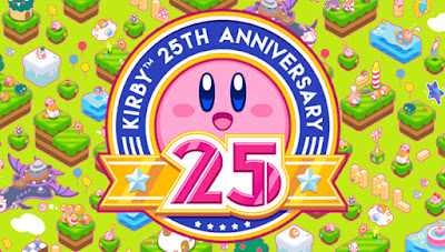 Kirby 25th Anniversary 25 wallpaper theme