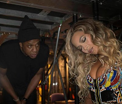 Beyonce and Jay-Z on a date in London