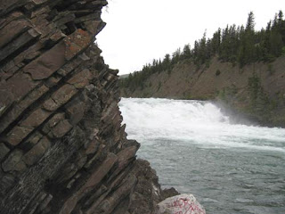 Bow Falls.