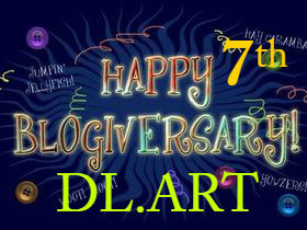 DL.ART 7 Year Blogiversary and 7 & giveaways