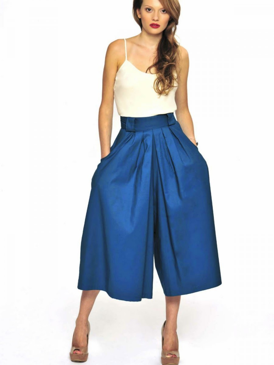 Eniwhere Fashion - Culottes - Top - Trend FW 2014-15