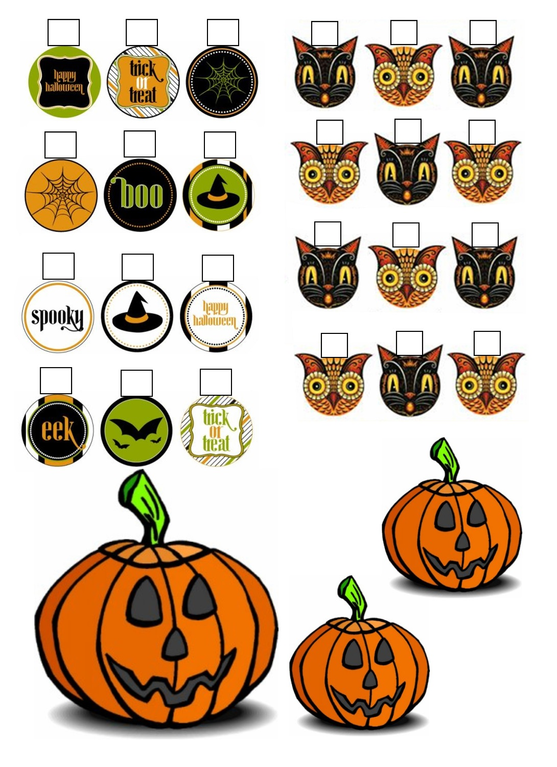 The Savage Dolls Doll size Halloween Decorations to make