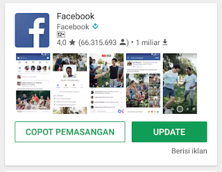 Cara Mengatasi Facebook Terhenti