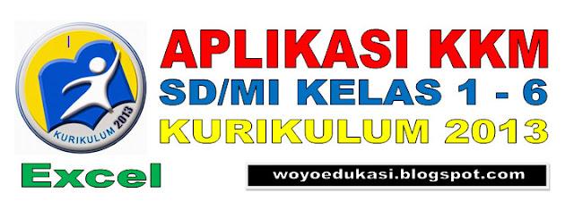 APLIKASI KKM SD/MI KELAS 1 - 6 KURIKULUM 2013