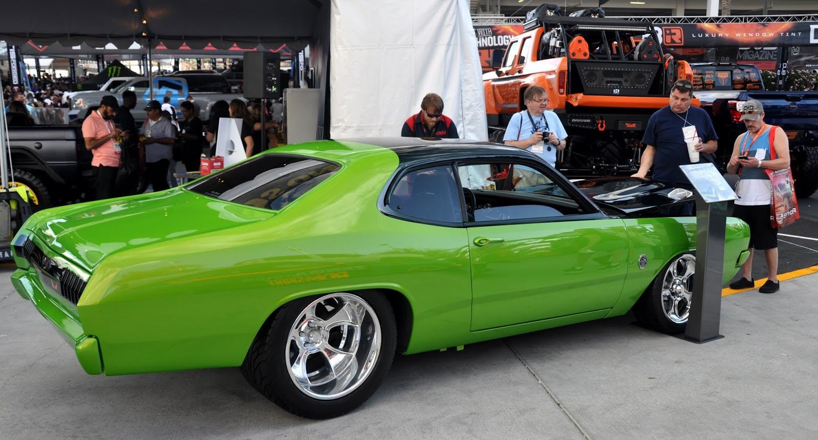 a7ea8b19 Just A Car Guy: the '71 Demon from the Vintage Hot Rod Shop