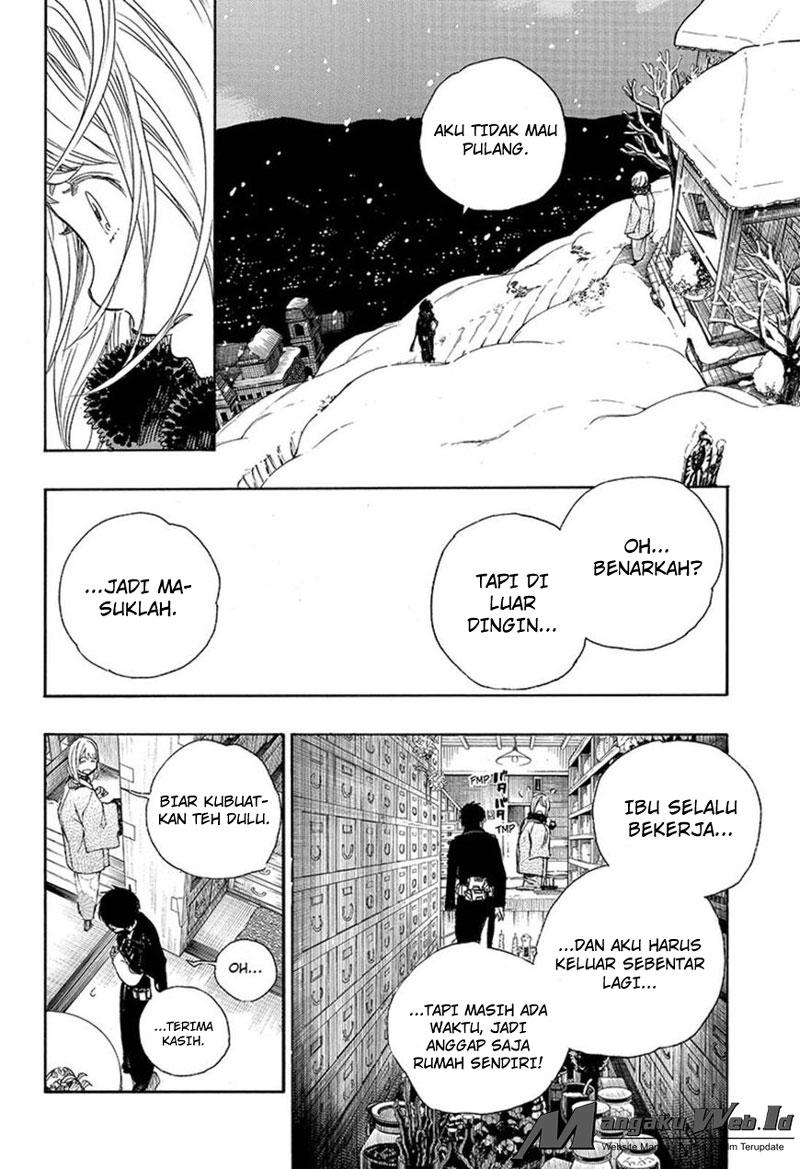 Ao No Exorcist – Chapter 93 : Dibalik Salju Bagian Kedua