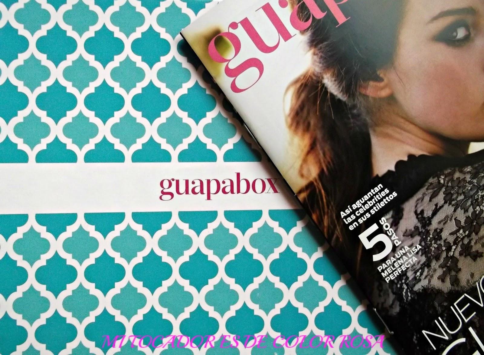 En el post de hoy quiero mostraros los productos de belleza y cosmética que  he recibido en mi cajita de belleza Guapabox del mes de Noviembre. 191684e12aa
