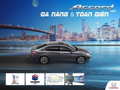 Bạn thích Honda Accord vì điều gì?