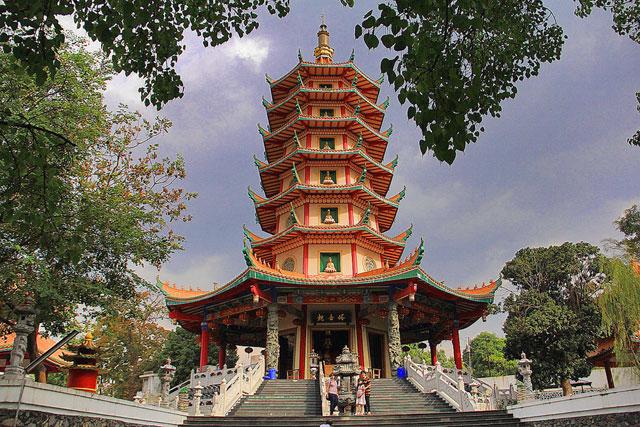Pagoda Avalokitesvara Buddhagaya Watugong