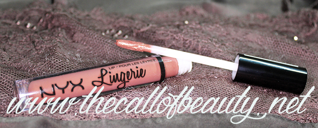 Lip Swatch: NYX Lingerie #10 Teddy