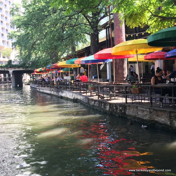colorful restaurant on River Walk in San Antonio, Texas