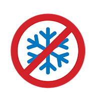 Snowflake Symbol as seen at Community Transit stops