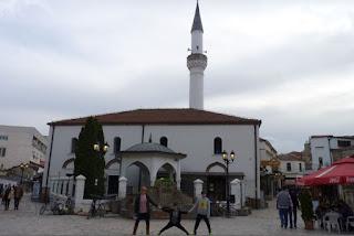Murat Pasha Mosque de Skopje.