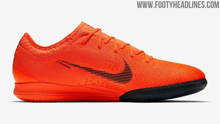 Low-Cut Nike MercurialX Vapor 12 Pro Indoor Boots Revealed - Footy ... f41230b0d
