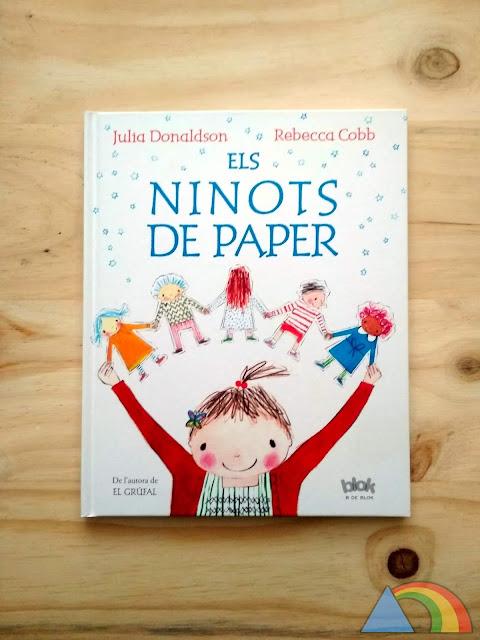 Portada del libro Los muñecos de papel
