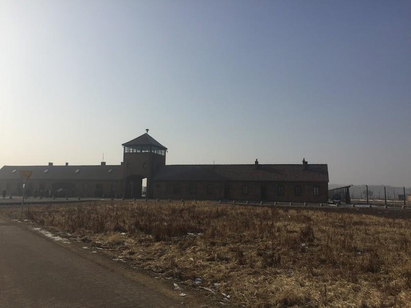 Birkenau watch tower at Auschwitz