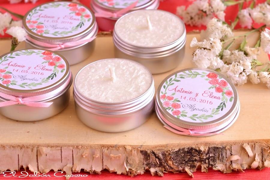 detalles de invitados bodas velas perfumadas personalizadas