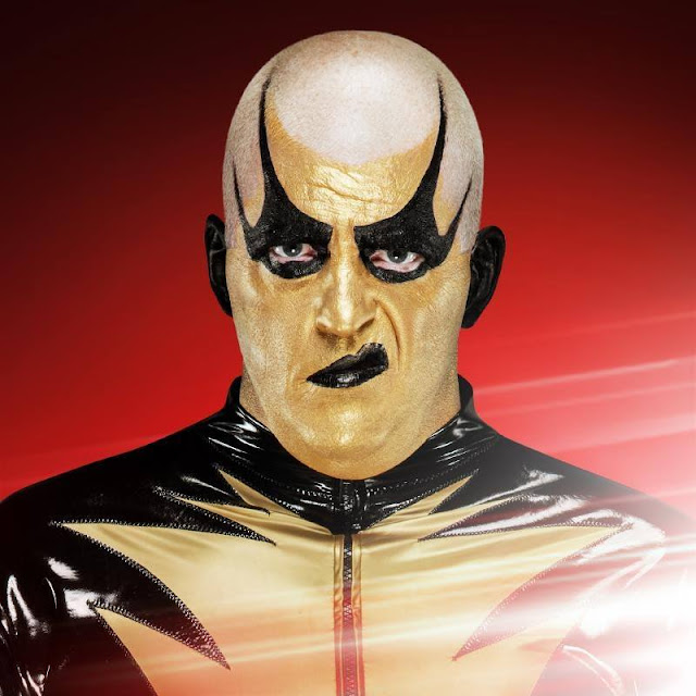 Goldust age, wife, real name, old is, wwe, wrestler, finisher, the artist formerly known as, no makeup, face, dusty rhodes, wiki, biography