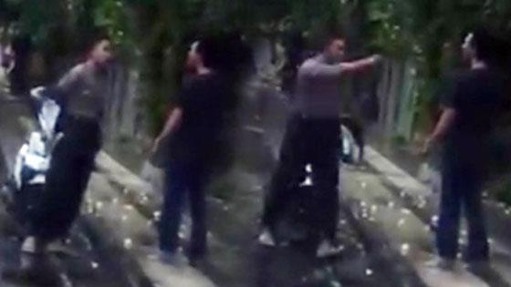 Viral! Video Tak Terima Ditegur Dan Tantang Duel, Pria Ini Kaget Saat Tau Yang Negur Polisi: