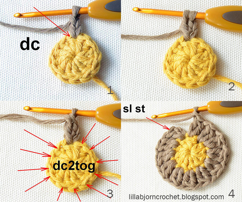 Circles Of The Sun Cal Block 1 Lillabjrns Crochet World