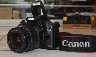 Jual Canon Eos 500D + Lensa 18-55mm IS