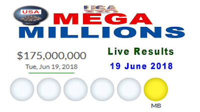 Mega Millions Results 19 June 2018
